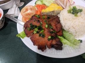 Tay Ho: Grilled pork chop