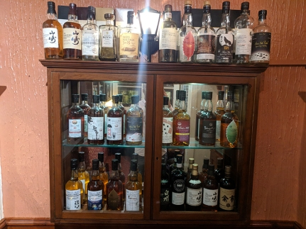 The Highlander Inn: Japanese whiskies