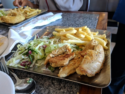 Khushi's: Kids' Chicken plate