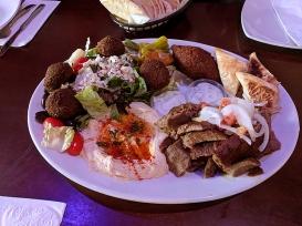 Ansari's: Large Mediterranean Sampler