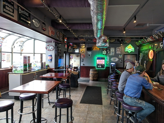 Ansari's: More Bar Seating