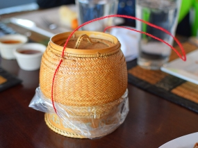 Joy's Thai: Sticky rice