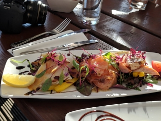 The Highlander Inn: Trio of smoked fish