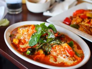 Joy's Thai: Walleye red curry