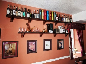 Whisky wall