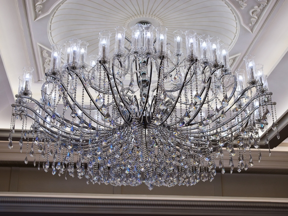 Maxim's Palace: Chandelier