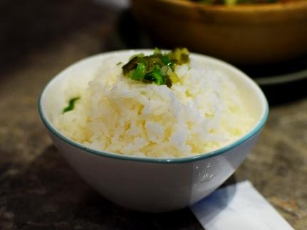 Chôm Chôm, Jasmine rice