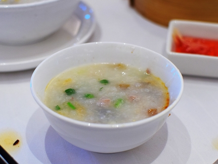 Rather good but I had better congee every day for the next five days (more on this soon).
