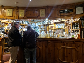 Dornoch Castle Whisky Bar, At the Bar