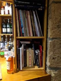 Dornoch Castle Whisky Bar, Bar Books