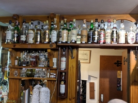 Dornoch Castle Whisky Bar, Bar Whiskies