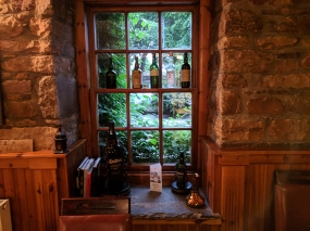 Dornoch Castle Whisky Bar, From the Bar