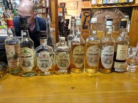 Dornoch Castle Whisky Bar, Glen Grants