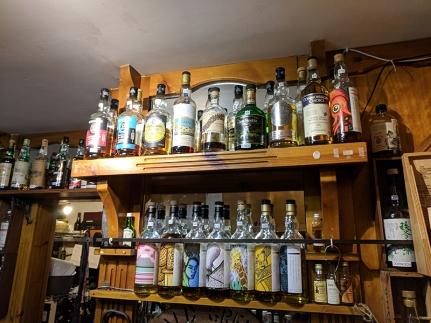 Dornoch Castle Whisky Bar, Whiskies