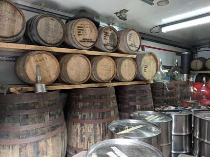 Dornoch Distillery, Warehouse Casks