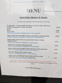 The Mash Tun: Menu, sandwiches, burgers, snacks