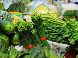 Sai Ying Pun Market, Chives