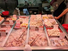 Sai Ying Pun Market, Fish balls