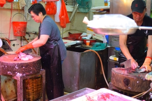 Sai Ying Pun Market, Fishmongers