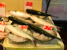 Sai Ying Pun Market, Whole fish