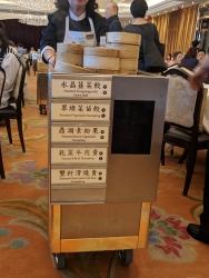 Maxim's Palace: Steamed dumpling cart