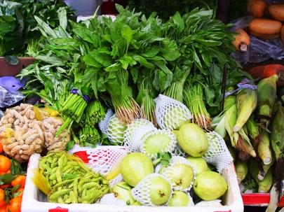 Hong Kong Fruit and Veg: Assorted veg