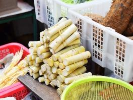 Hong Kong Fruit and Veg: Bamboo pith?