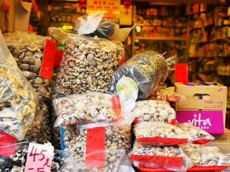 Hong Kong Fruit and Veg: Dried mushrooms