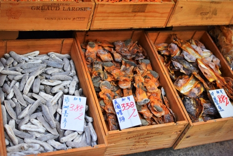 Hong Kong, 2018: Dried seafood