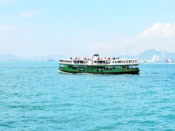 Green ferry