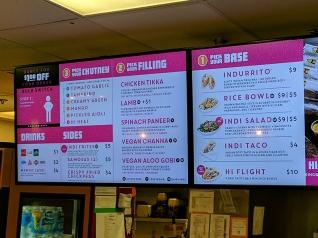 Midtown Global Market: Hot Indian Foods, Menu
