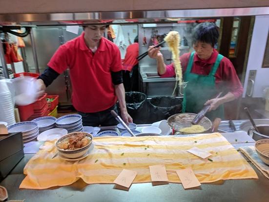 Tsim Chai Kee: Kitchen noodling
