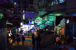 Late night street
