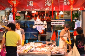Hong Kong, 2018: Lee Hung Seafood