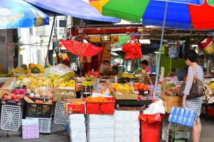 Hong Kong, 2018: Graham St. market