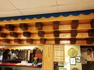 Sole Cafe: Paneling