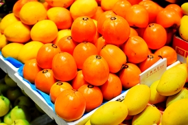Hong Kong Fruit and Veg: Persimmons?