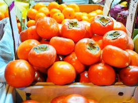 Hong Kong Fruit and Veg: Persimmons