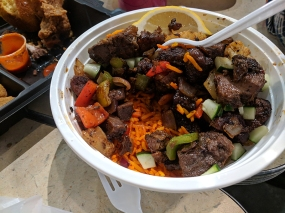 Midtown Global Market: Spicy rice