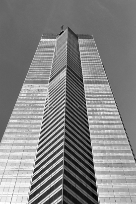 The Center-bw