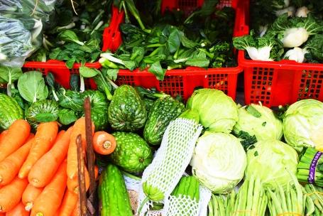 Hong Kong Fruit and Veg: More assorted veg.