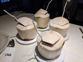 chilli club, coconuts