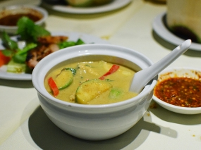chilli club, green curry