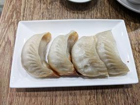 crystal jade, pan-fried dumplings