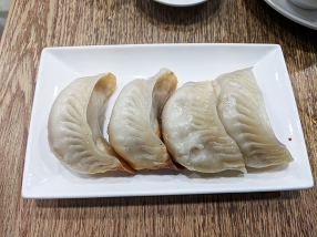 crystal jade, pan-fried dumplings