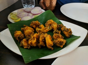 Jai Hind: Prawn Malabari fry