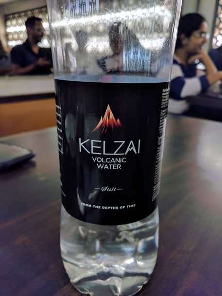 Jai Hind: Volcanic water!