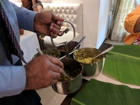 just kerala, sadhya begins