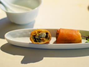 lung king heen, spring roll2