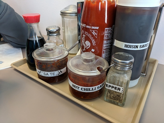 pho everest, condiments